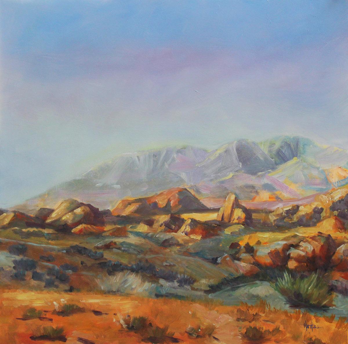 Nevada Landscape, Fine Art