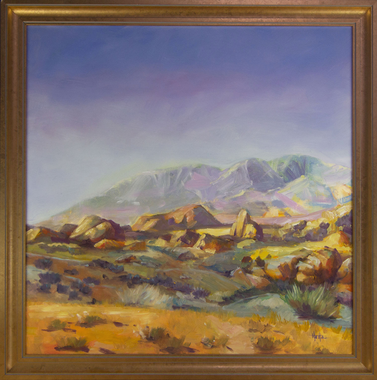 Nevada Landscape Framed