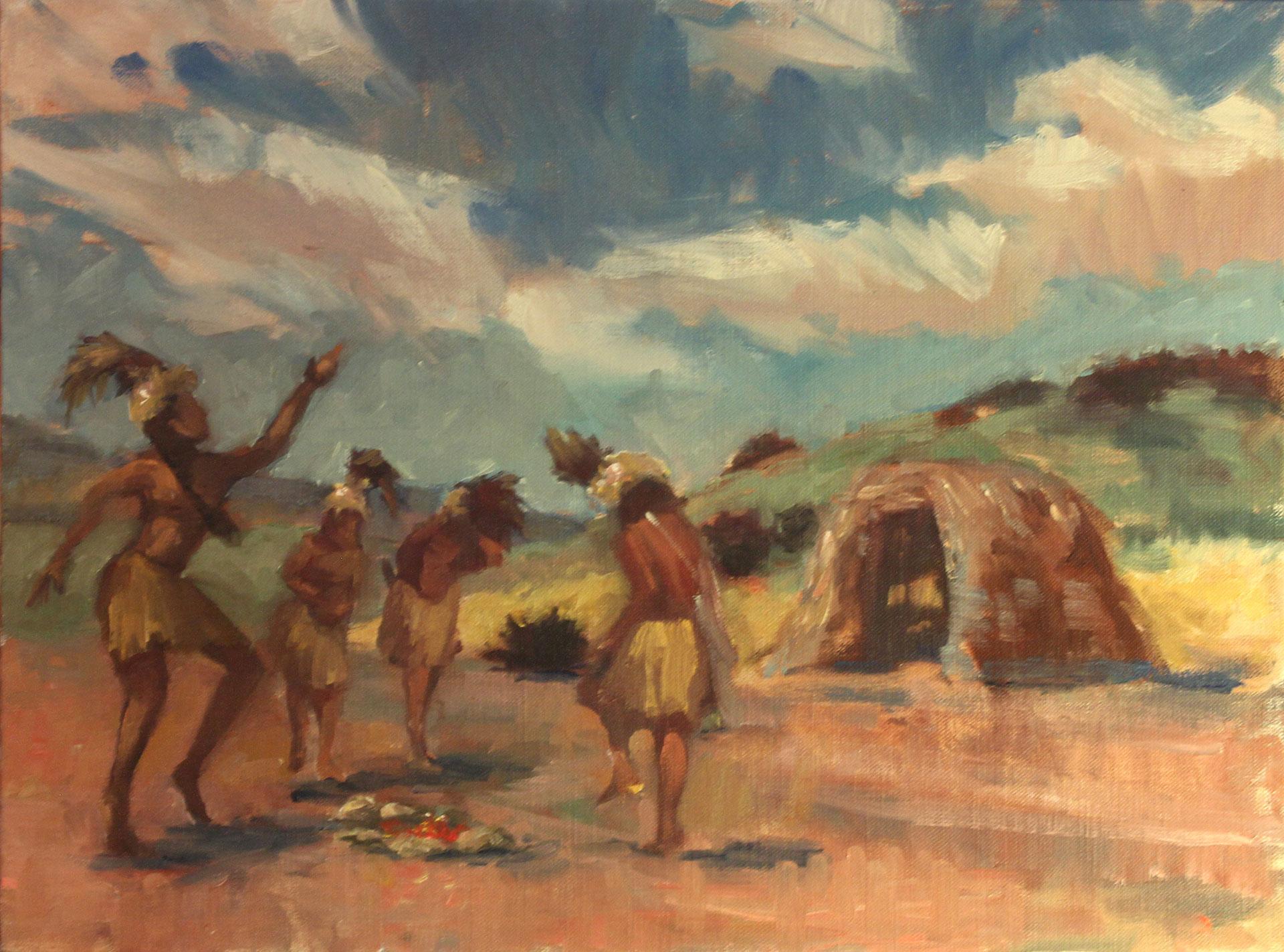 Tribal Dance, Fine Art