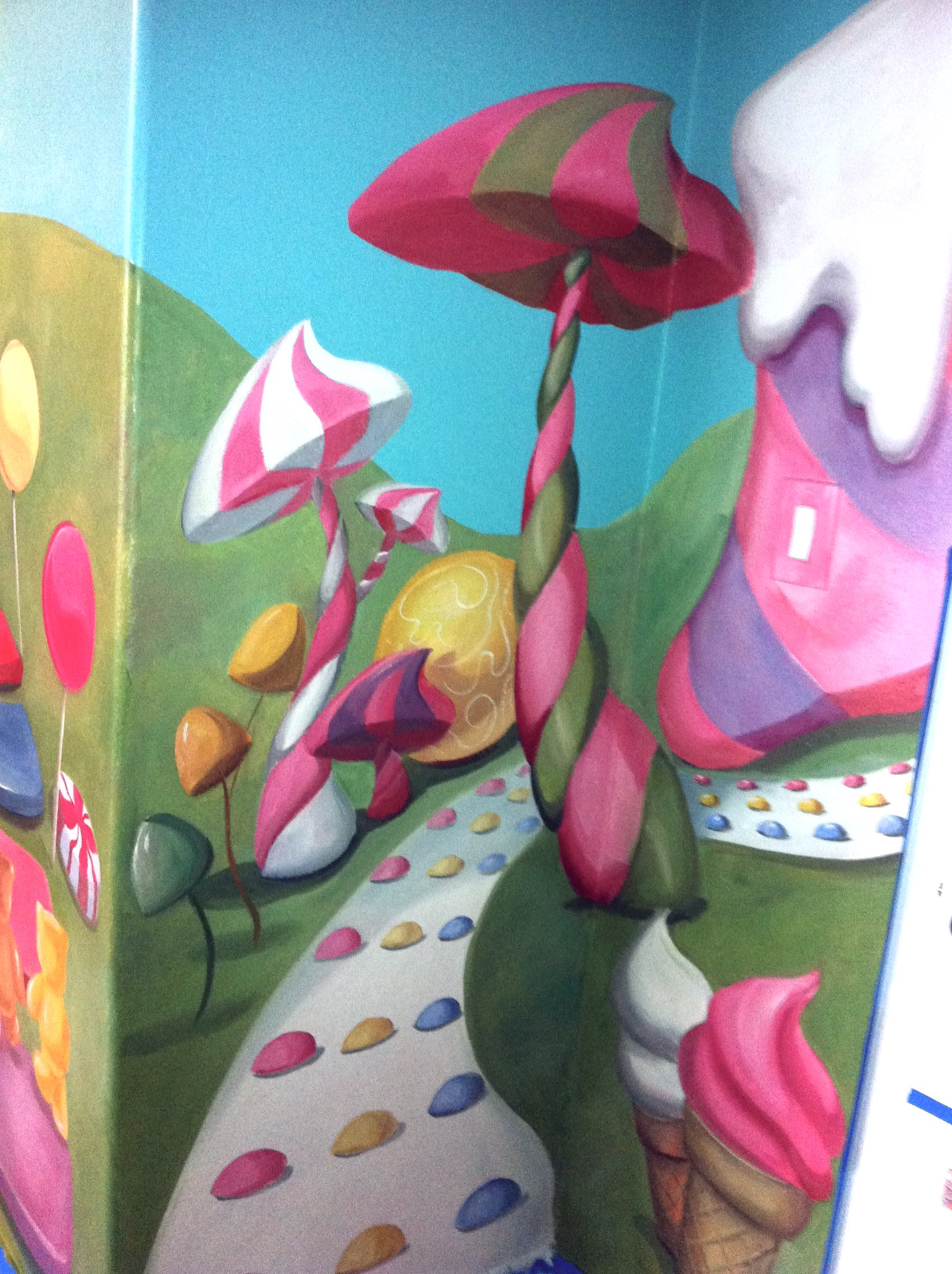 Candy Land Kids Room