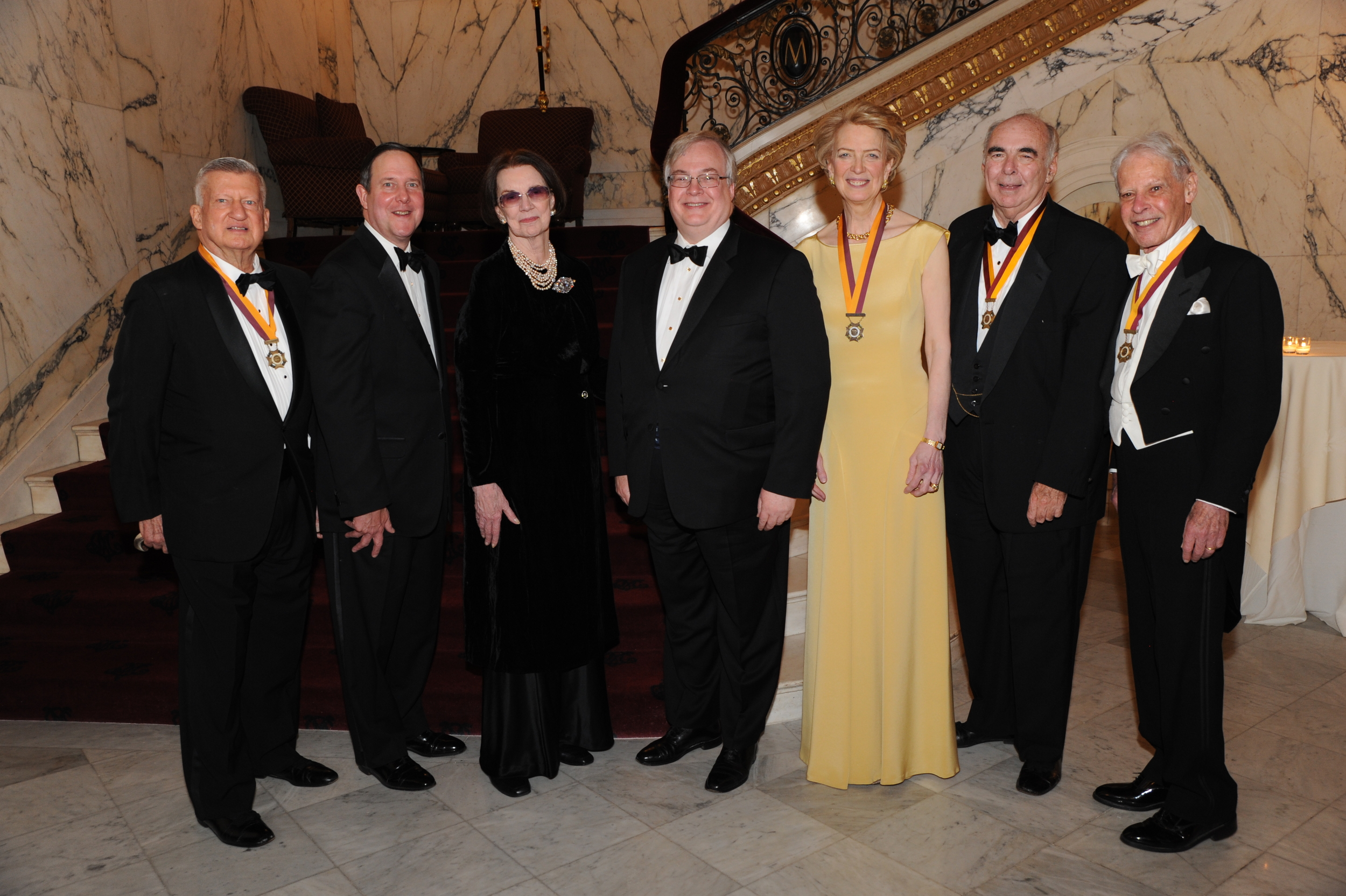 B_4164 -Tom Hills,Alan Frese, Connie Greenspan, NES President Anne Hall Elser, Scott Glascock, Doran Mullen,Arnold Neis.JPG