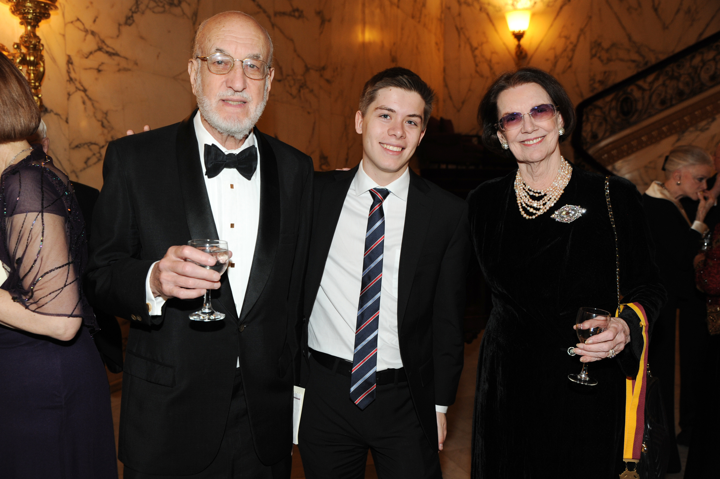 DSC_3738 - Bill Greenspan,  NES Scholar Maxwell Liebeskind, Harvard University Class of 2017, Connie Greenspan (2).JPG
