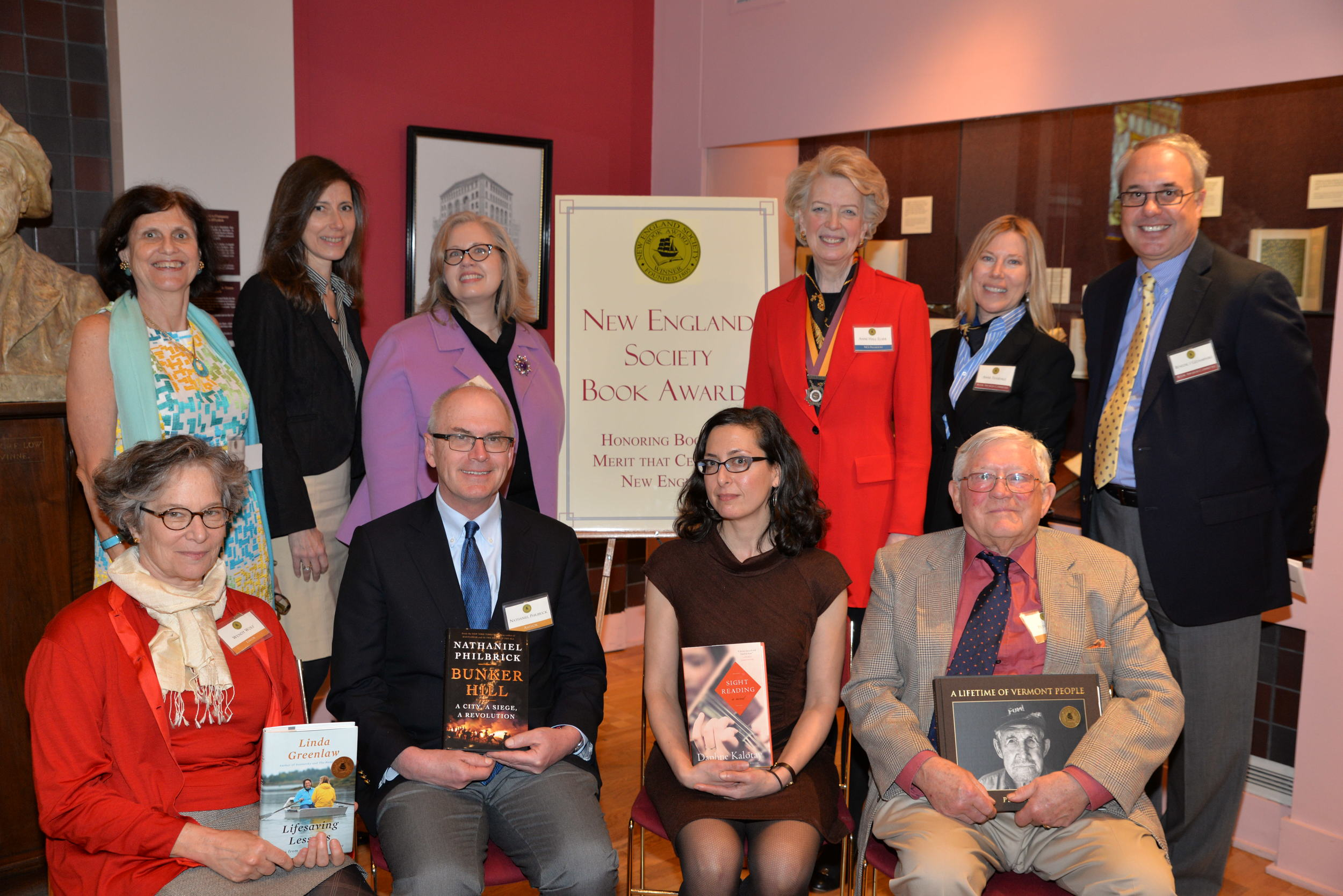 2014 Book Awards Luncheon | April 16, 2014 | The Grolier Club