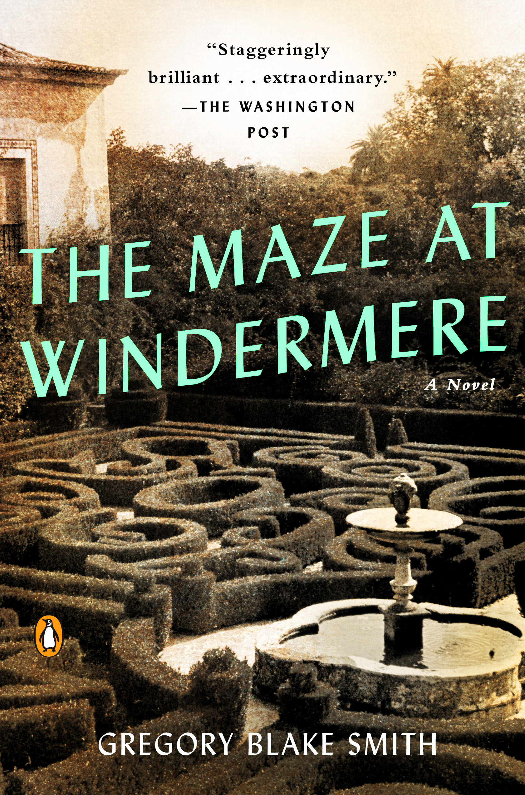 The Maze at Windermere  by Gregory Blake Smith  (Penguin Random House, Viking)   READ MORE