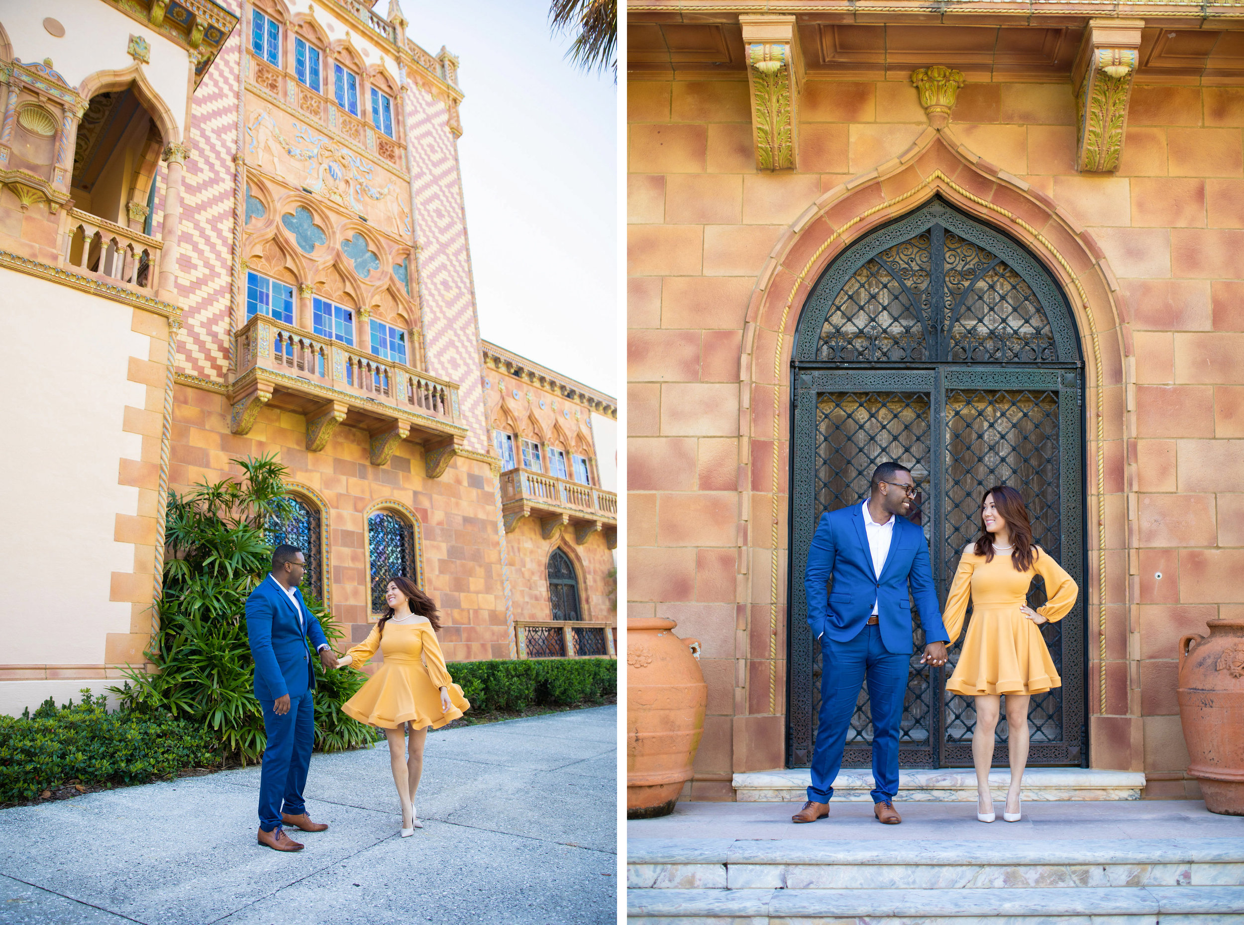 Ringling Museum Engagement Photos