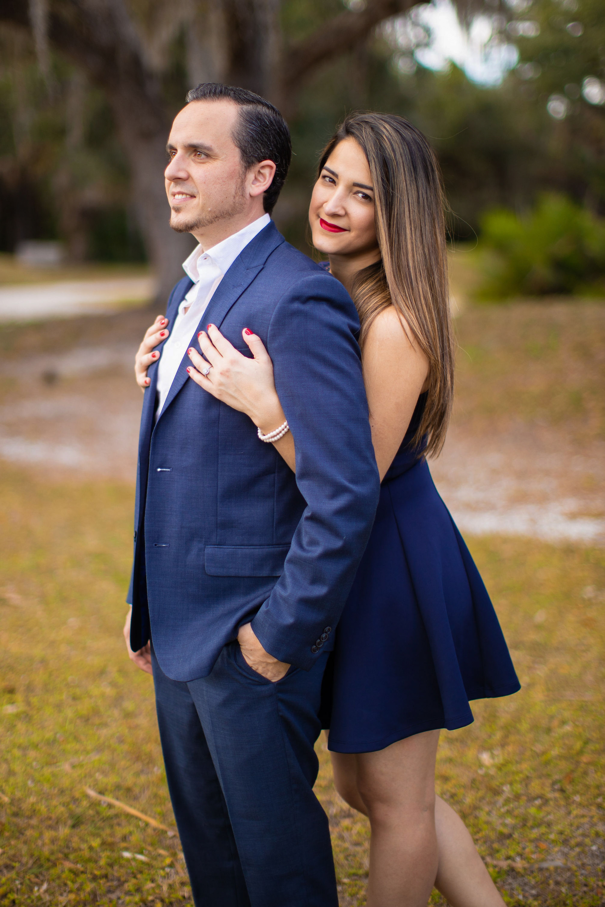 Koreshan State Park Engagement Session
