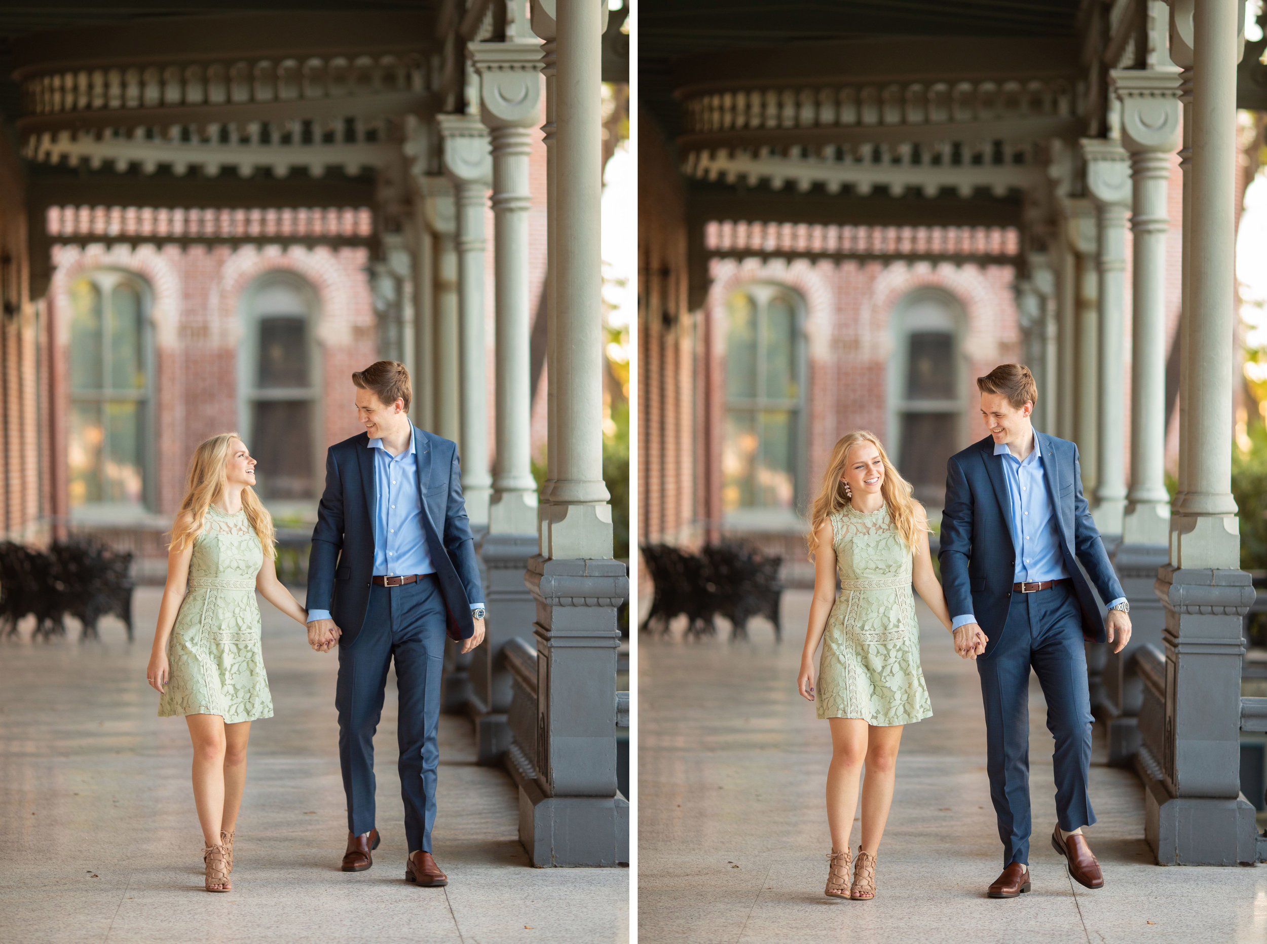 Downtown Tampa Engagement Session