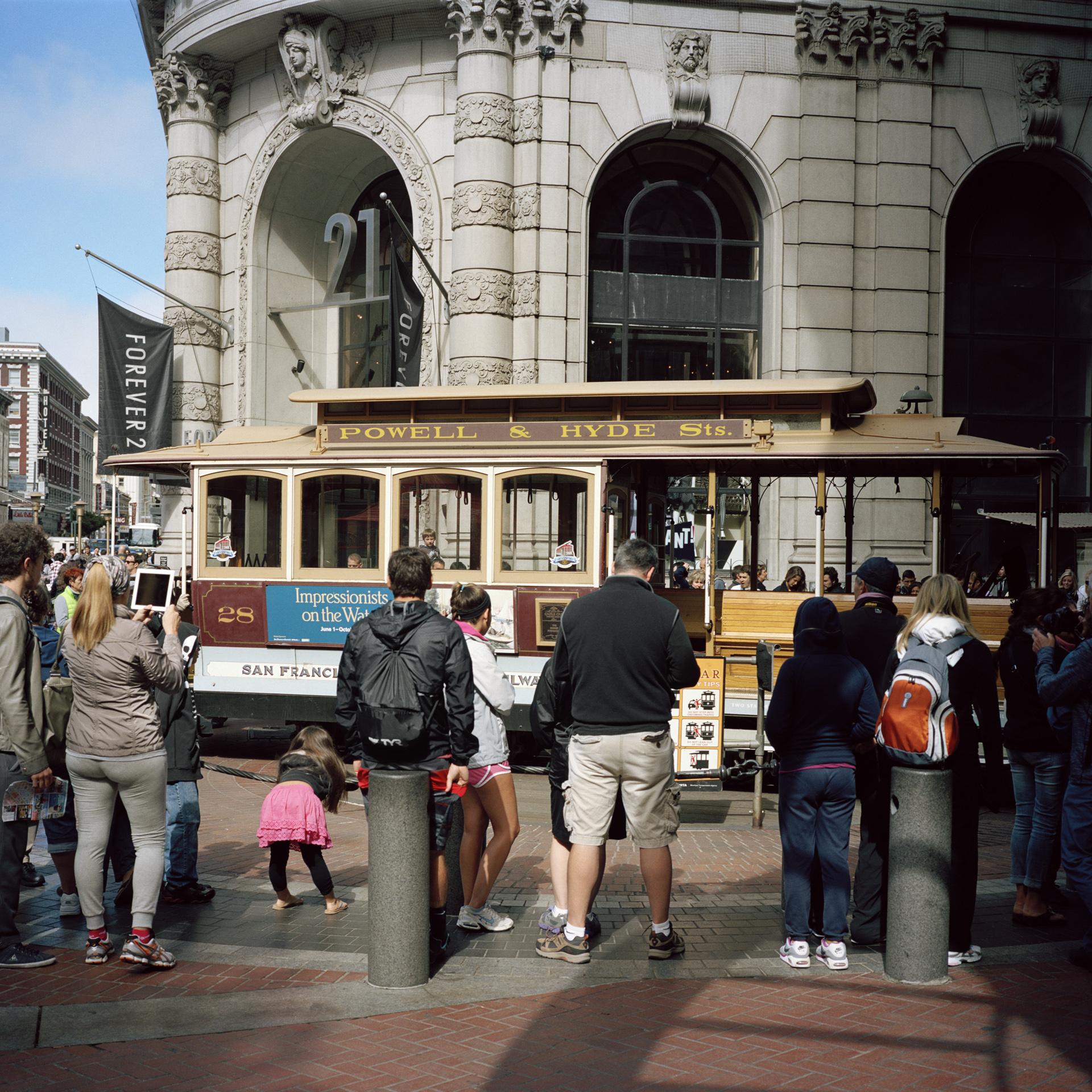 San Francisco. Market Street.