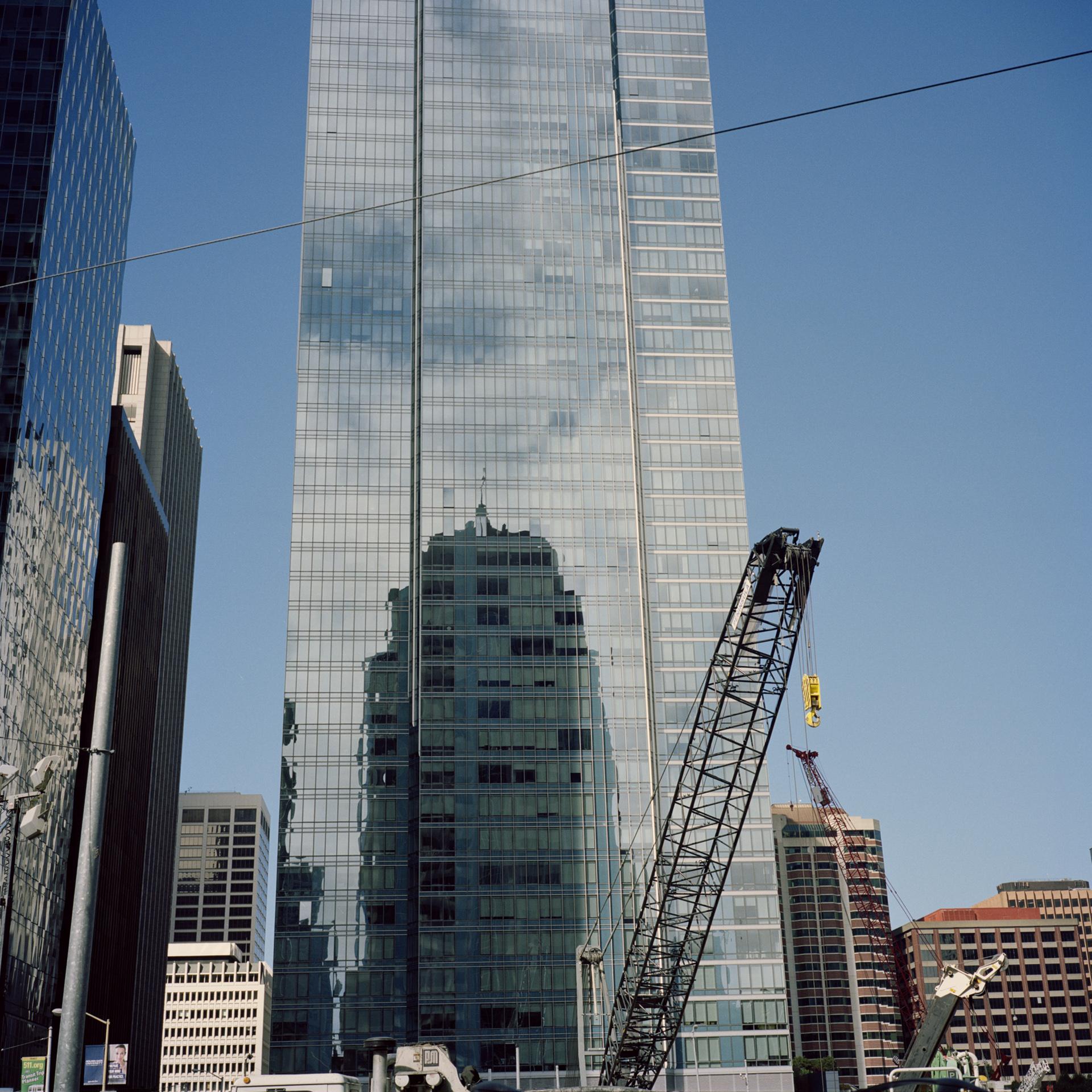 San Francisco. Construction boom.