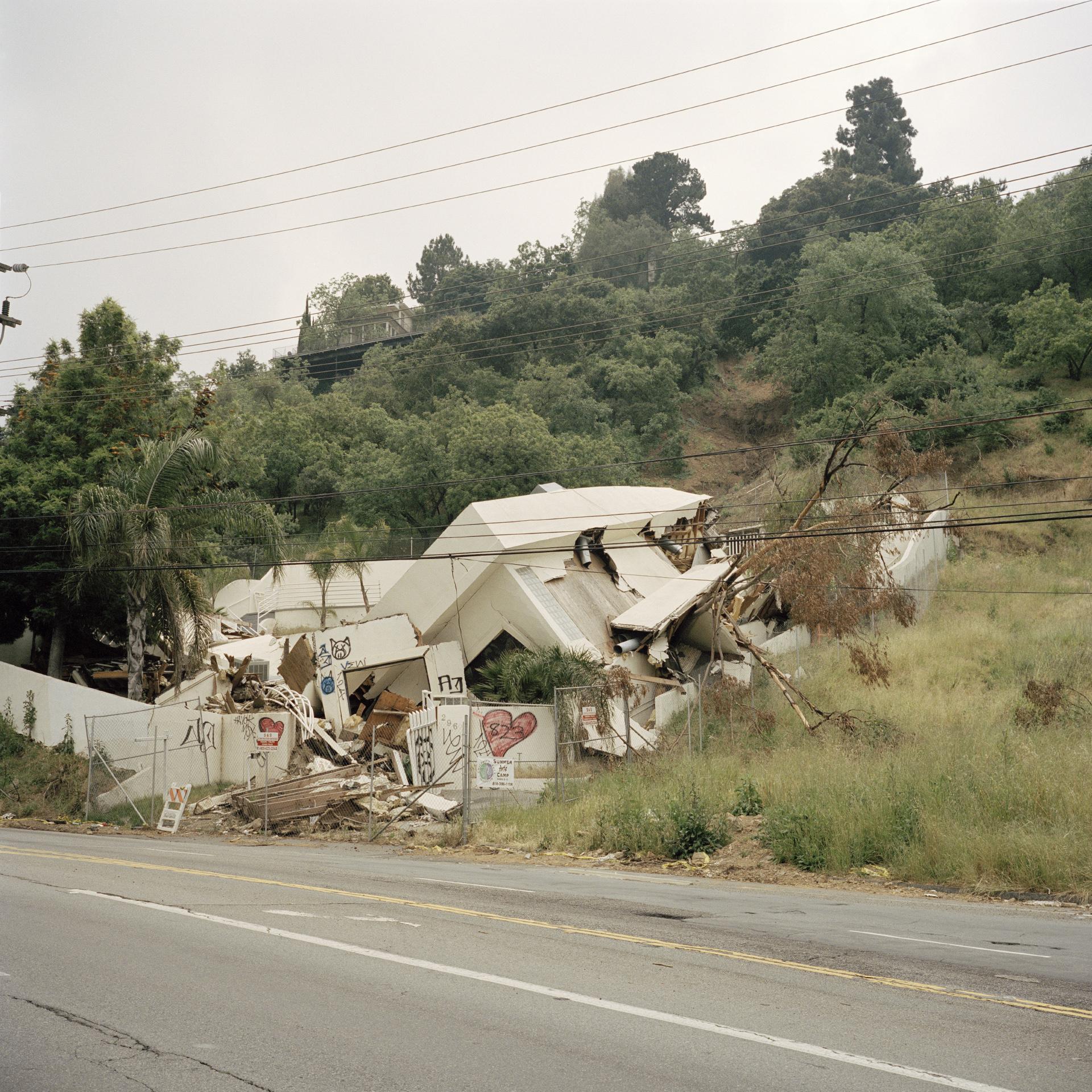 Los Angeles. Laurel Canyon.