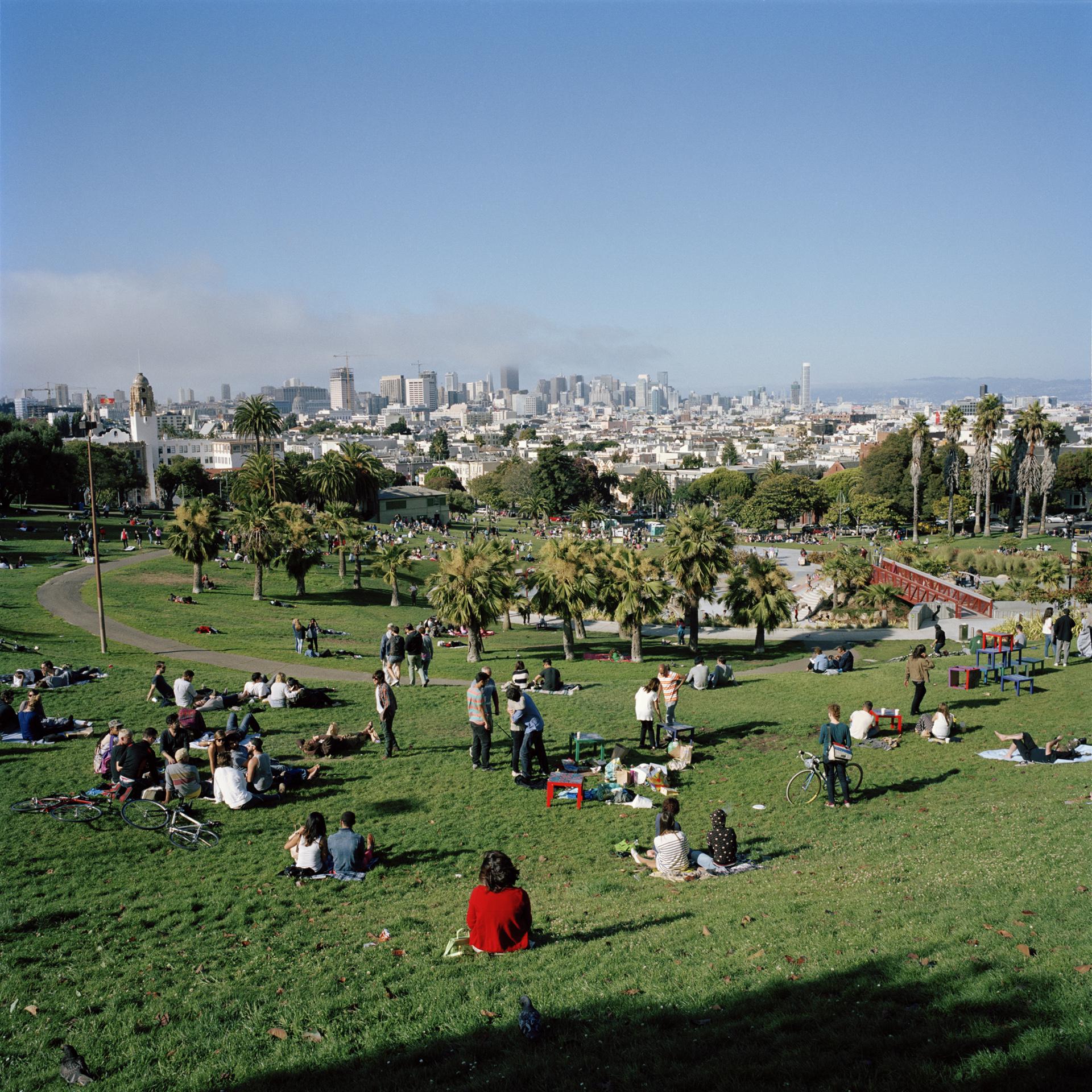 San Francisco. Delores Park.
