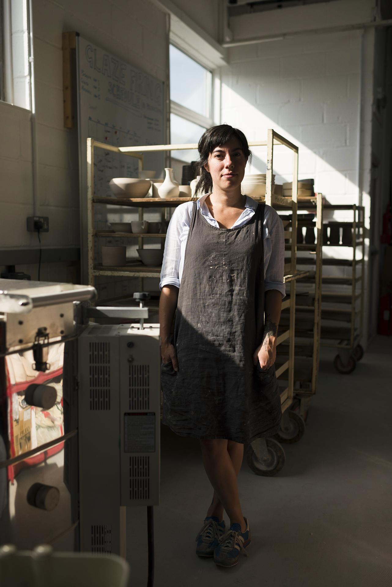 Andrea Roman, ceramicist -  Glaze Magazine