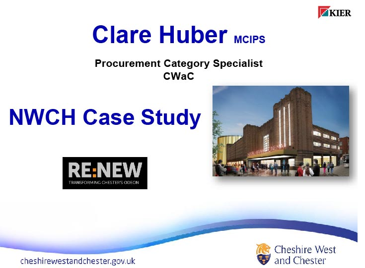 Please click   here   to download   presentation by   Clare Huber: Case Study: Chester Theatre