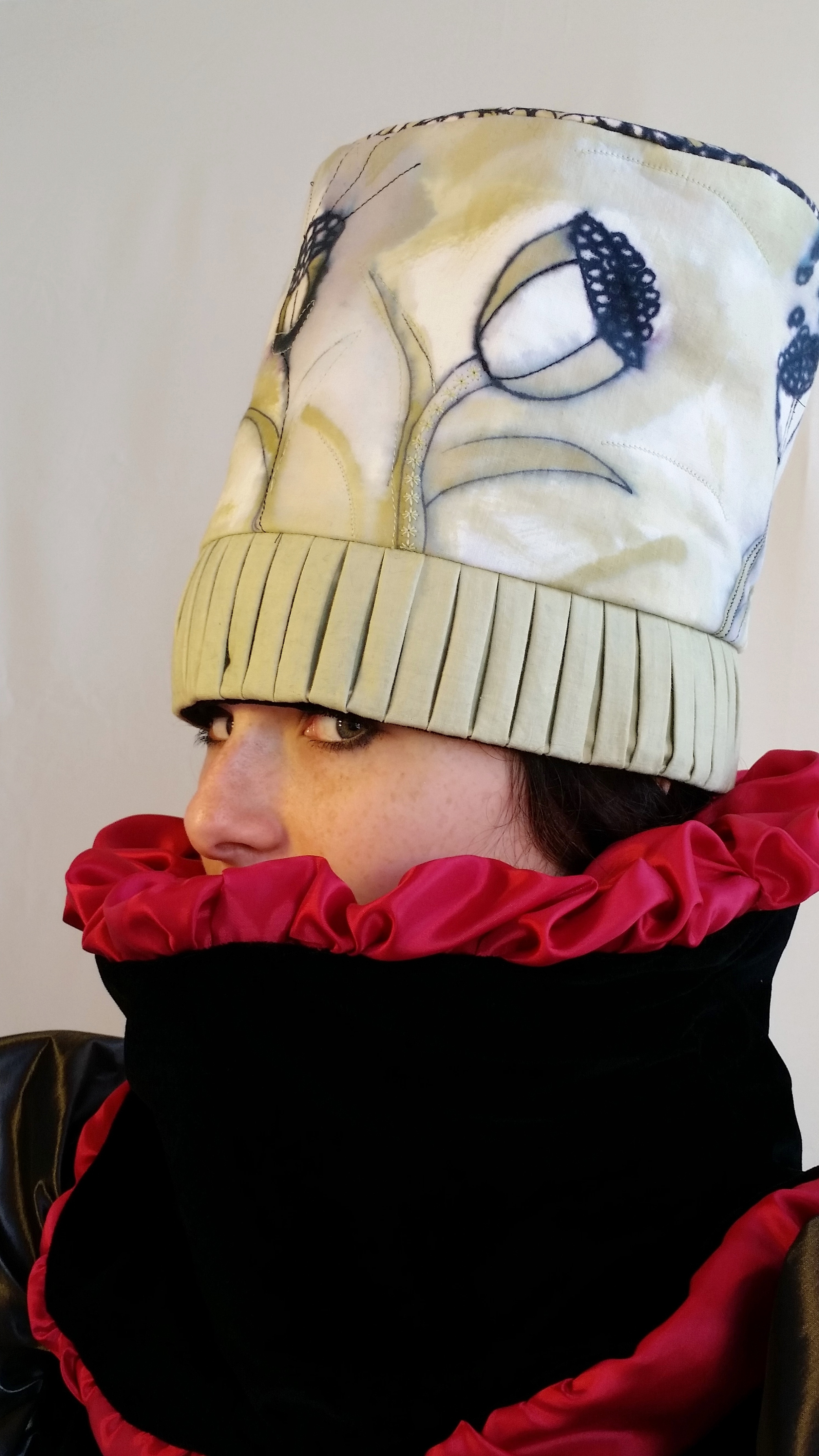 Girl with Birds - Hat