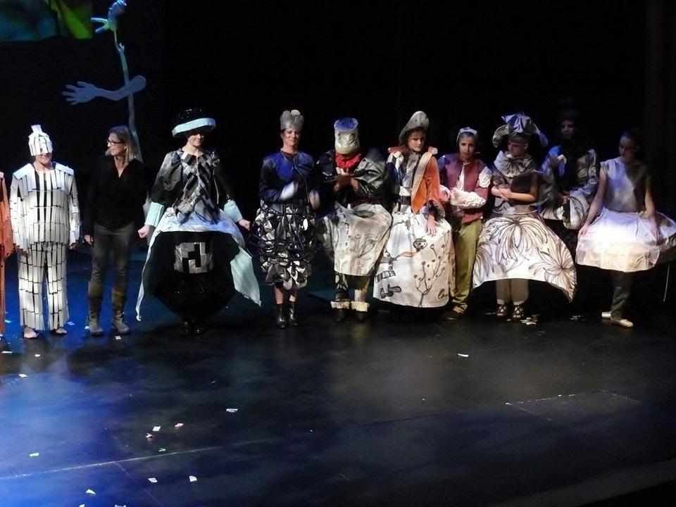 Crossing into Dream: Surrealist Fashion Show