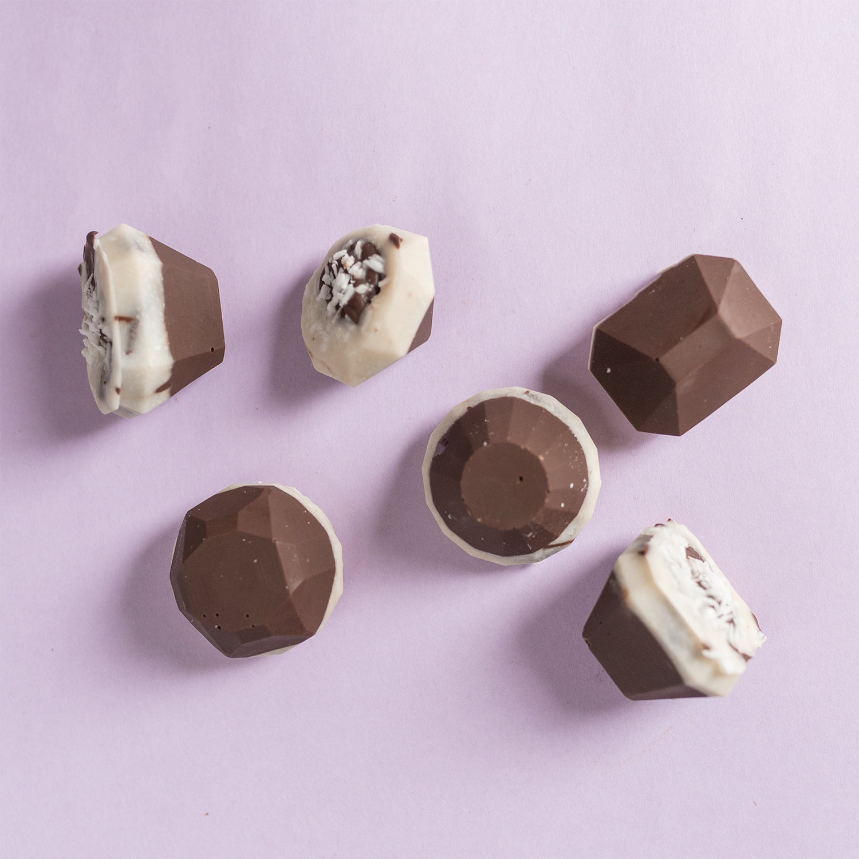 CBD Chocolate Coconut Gems  for OMNI Botanicals