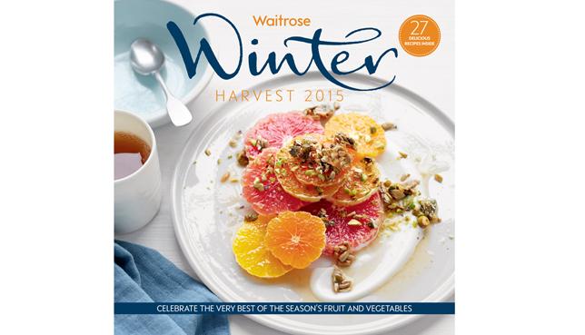 Waitrose winter Harvest 15, photographer Con Poulos, Food stylist Joss Herd