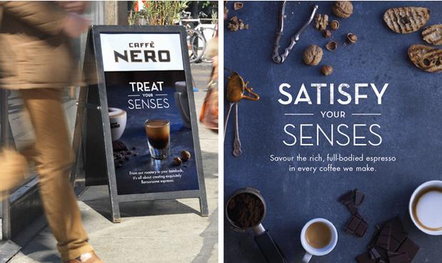 Caffe Nero campaign, Photographer Anders Schonnemann