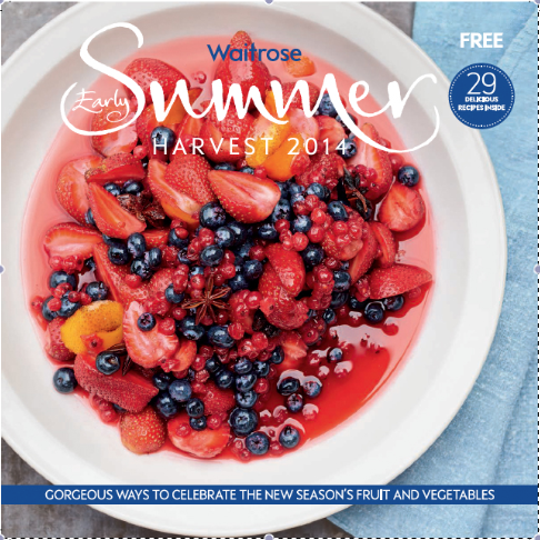 Waitrose early summer 14, Photographer Con Poulos, Food stylist Susie Theodorou