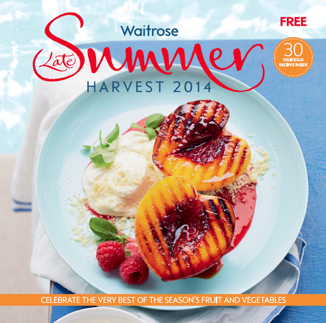 Waitrose late summer 14, Photographer Con Poulos, Food stylist Susie Theodorou