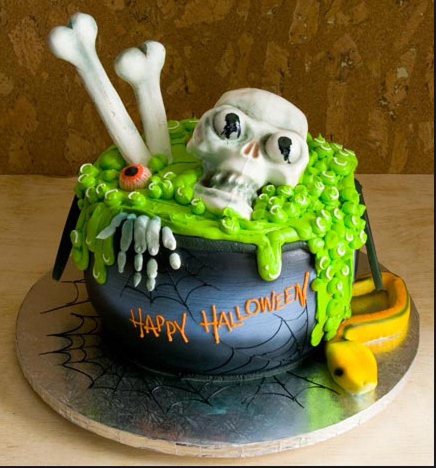 Halloween Cake!