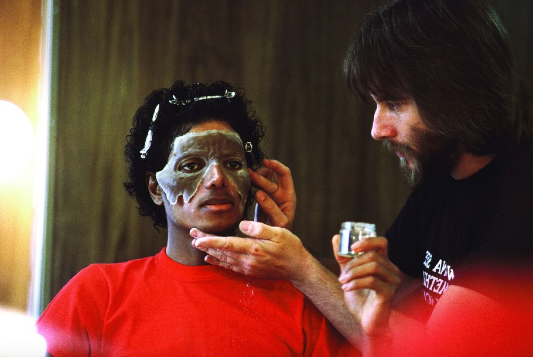 Watch These Behind The Scenes Photos And Video Of Thriller Where Michael Reveals His Favorite Horror Movie I Love Halloween