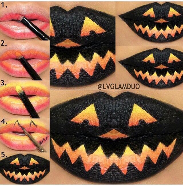 9 Luscious Halloween Lip Art Ideas I Love Halloween
