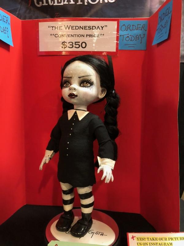 Spooky dolls by #vykievangoth
