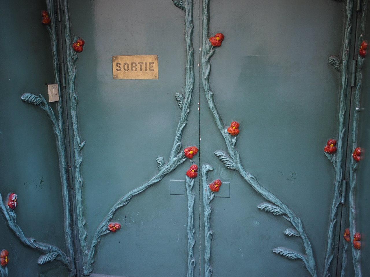 just another door in the neighborhood, Saint-Germain-des-Prés