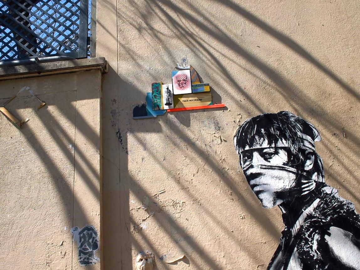 graffiti, Montmartre