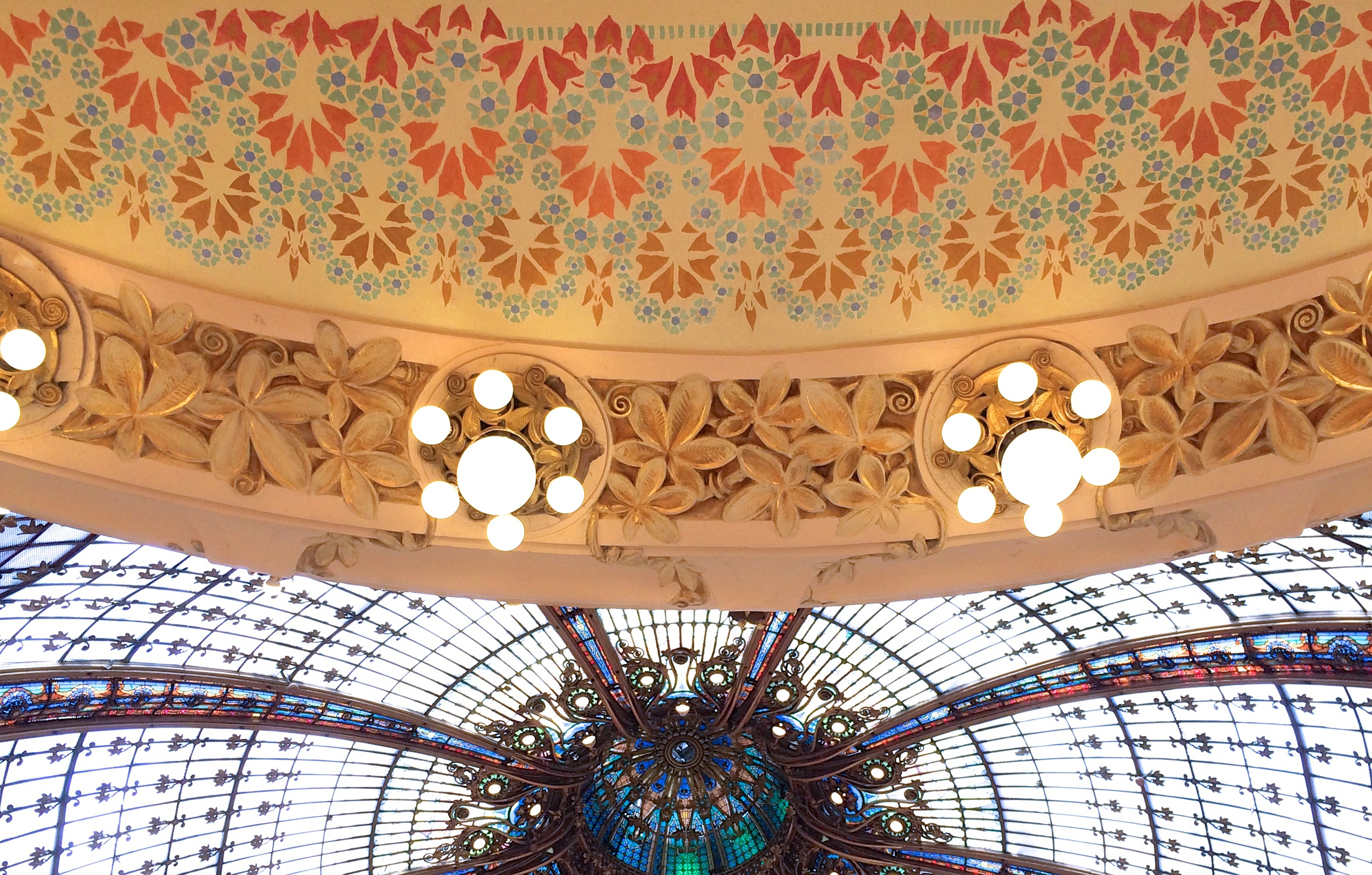 more ceiling, Galeries Lafayette