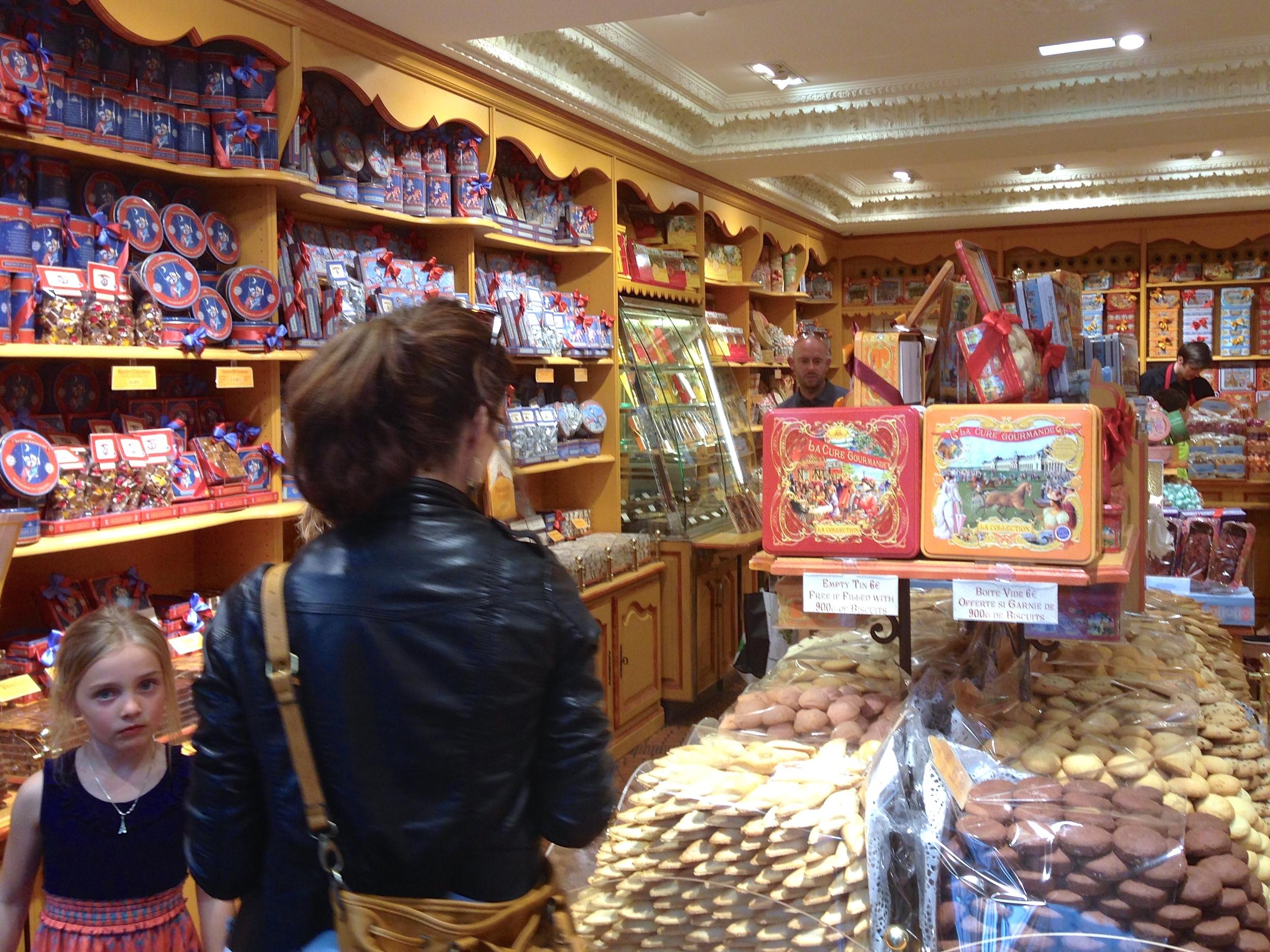 a kid in a candy shop, the Marais