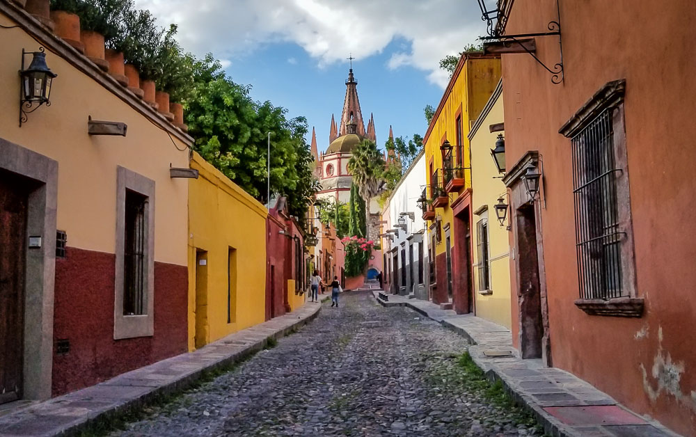 the streets of San Miguel de Allende…