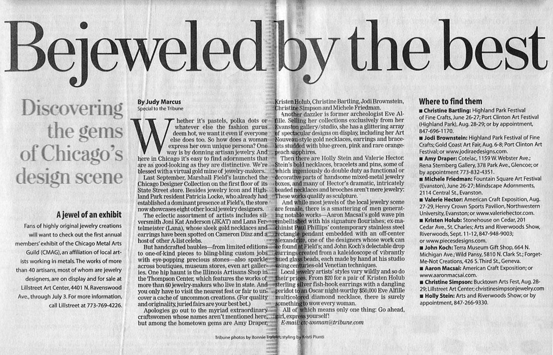 Chicago Tribune, June 2004