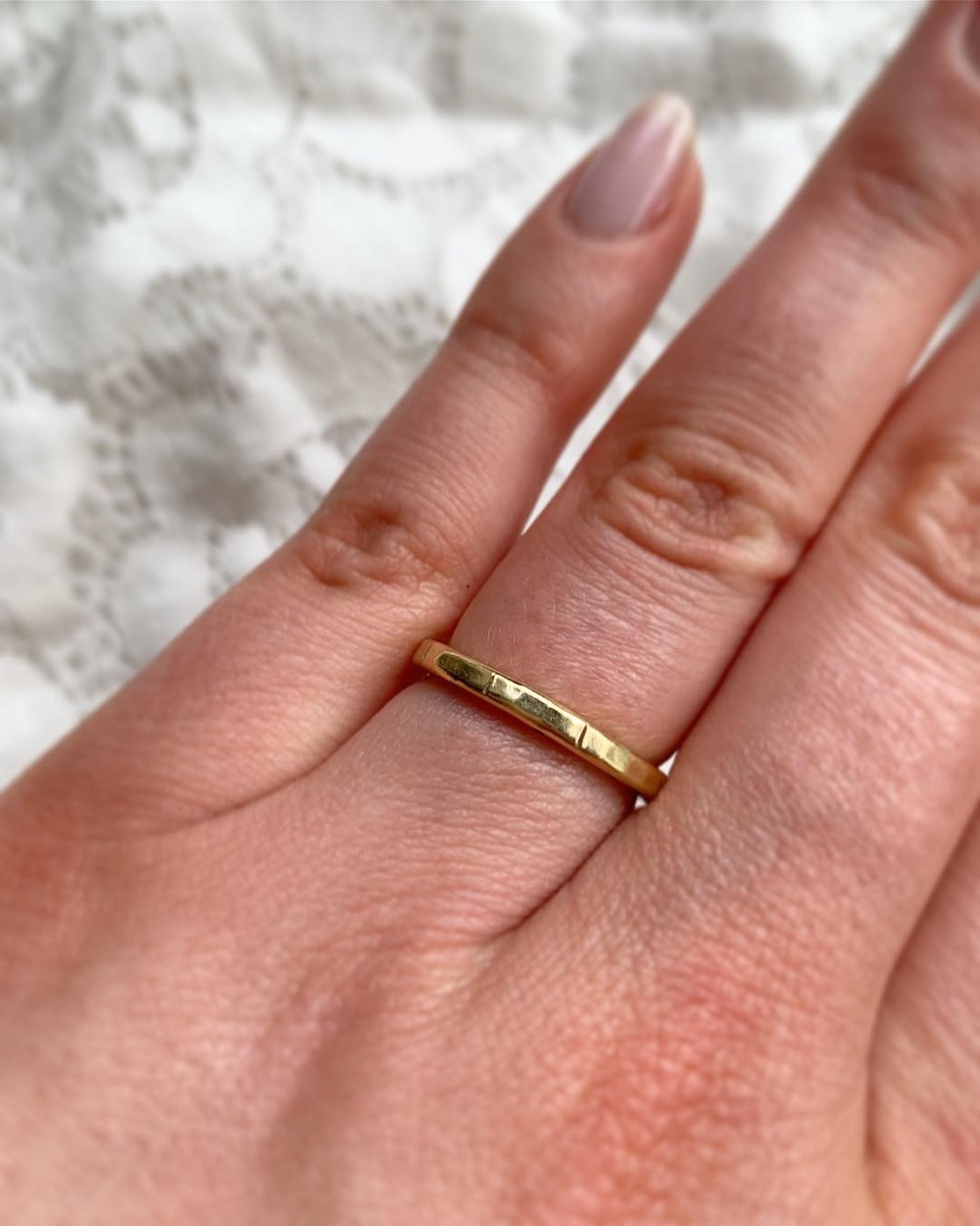 Texture Wedding Band Unique Gold Ring Jewelry Gold Wedding Band Wide Gold Band Unisex Wedding Band His and Hers Wedding ring Engagement Ring