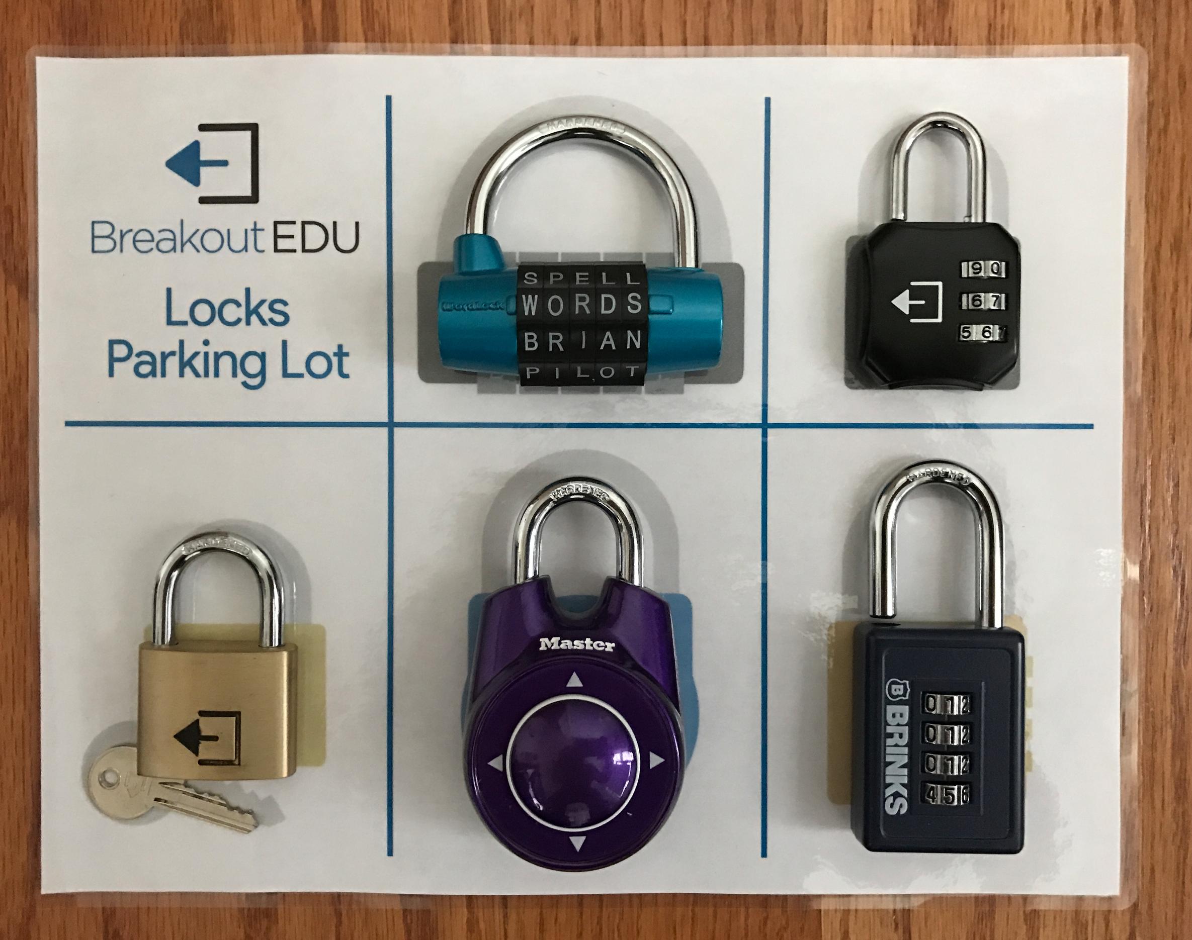 Lock Care Tips — Breakout EDU
