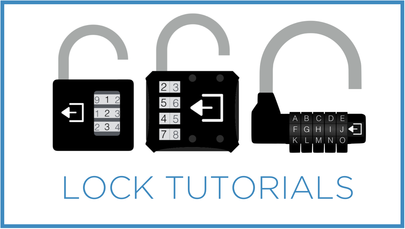 Learn how to set / reset your Breakout EDU locks by watching videos and reading helpful tips.