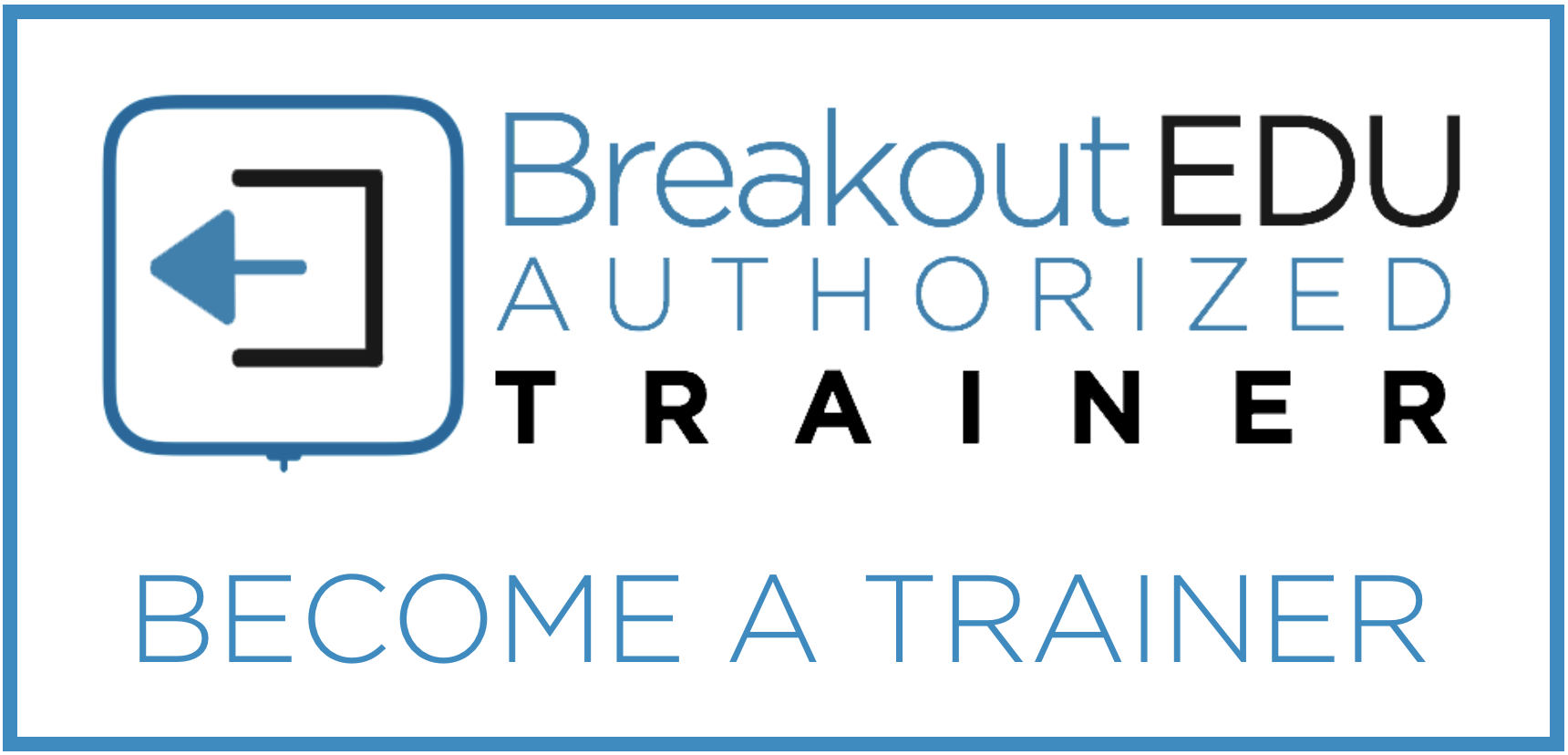 Love to present on Breakout EDU? Great! Consider applying to become a Breakout EDU Authorized Trainer for some great professional learning opportunities.