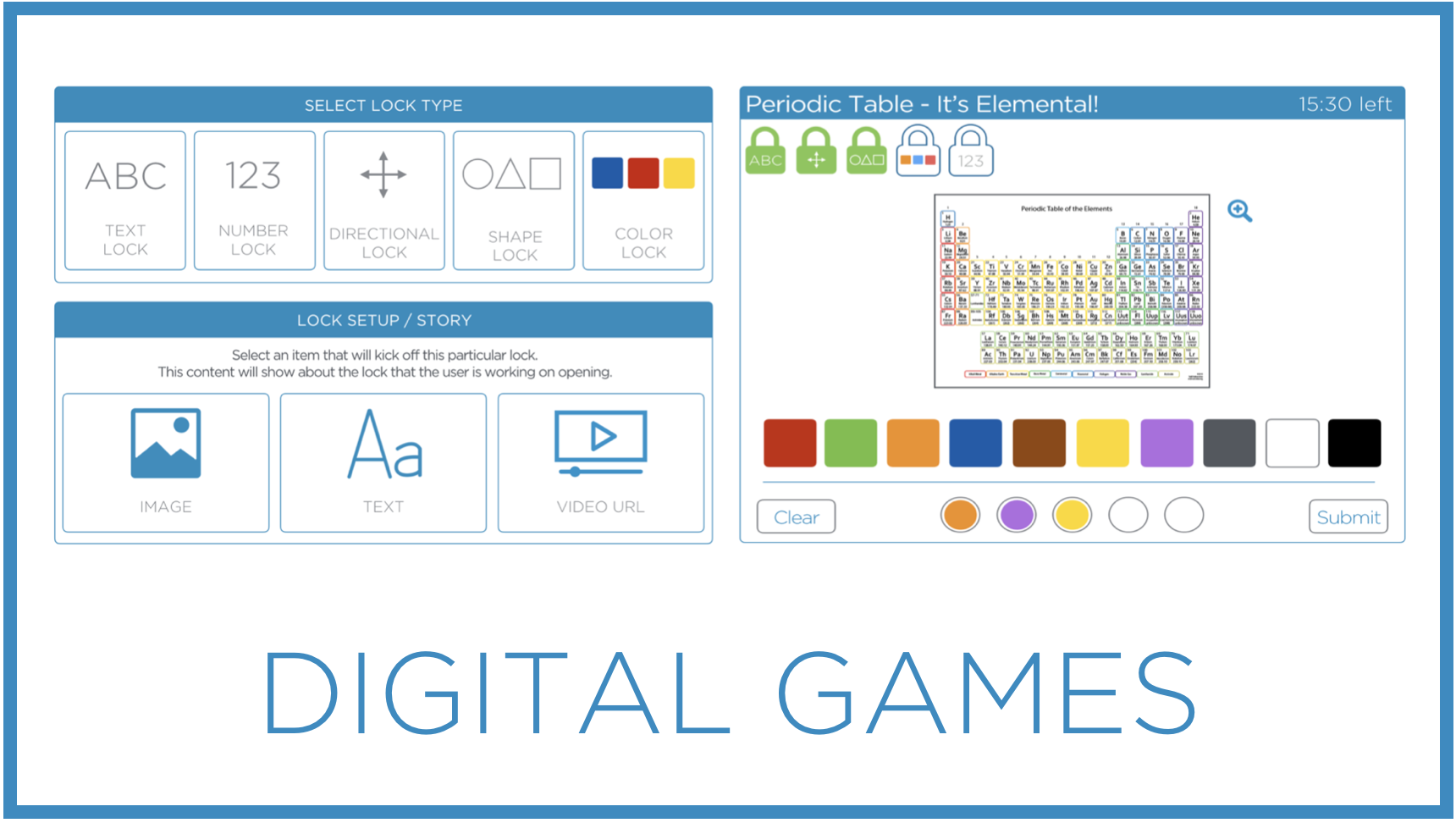 Learn how to create and share games Breakout EDU Digital Games on our easy to use platform.