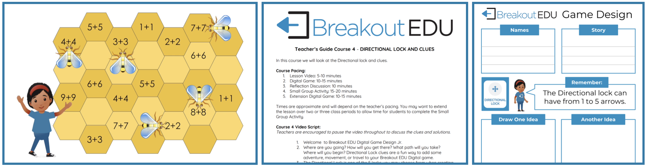 Game Design Courses can get students creating their own games on the Breakout EDU Platform