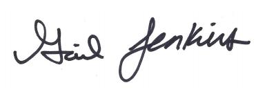 Gail Jenkins signature