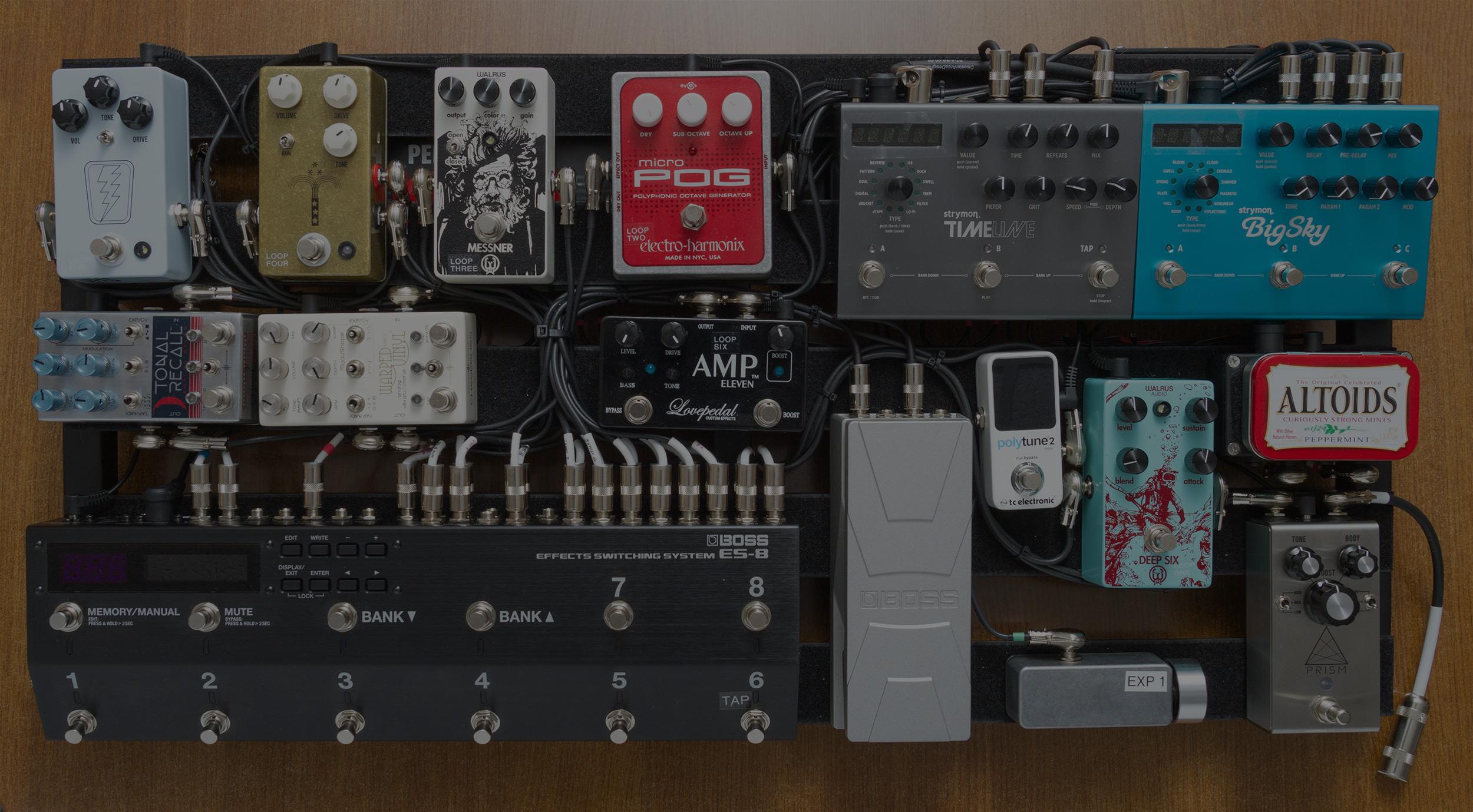PedaltrainPRO 32 - Full Electric Guitar Rig