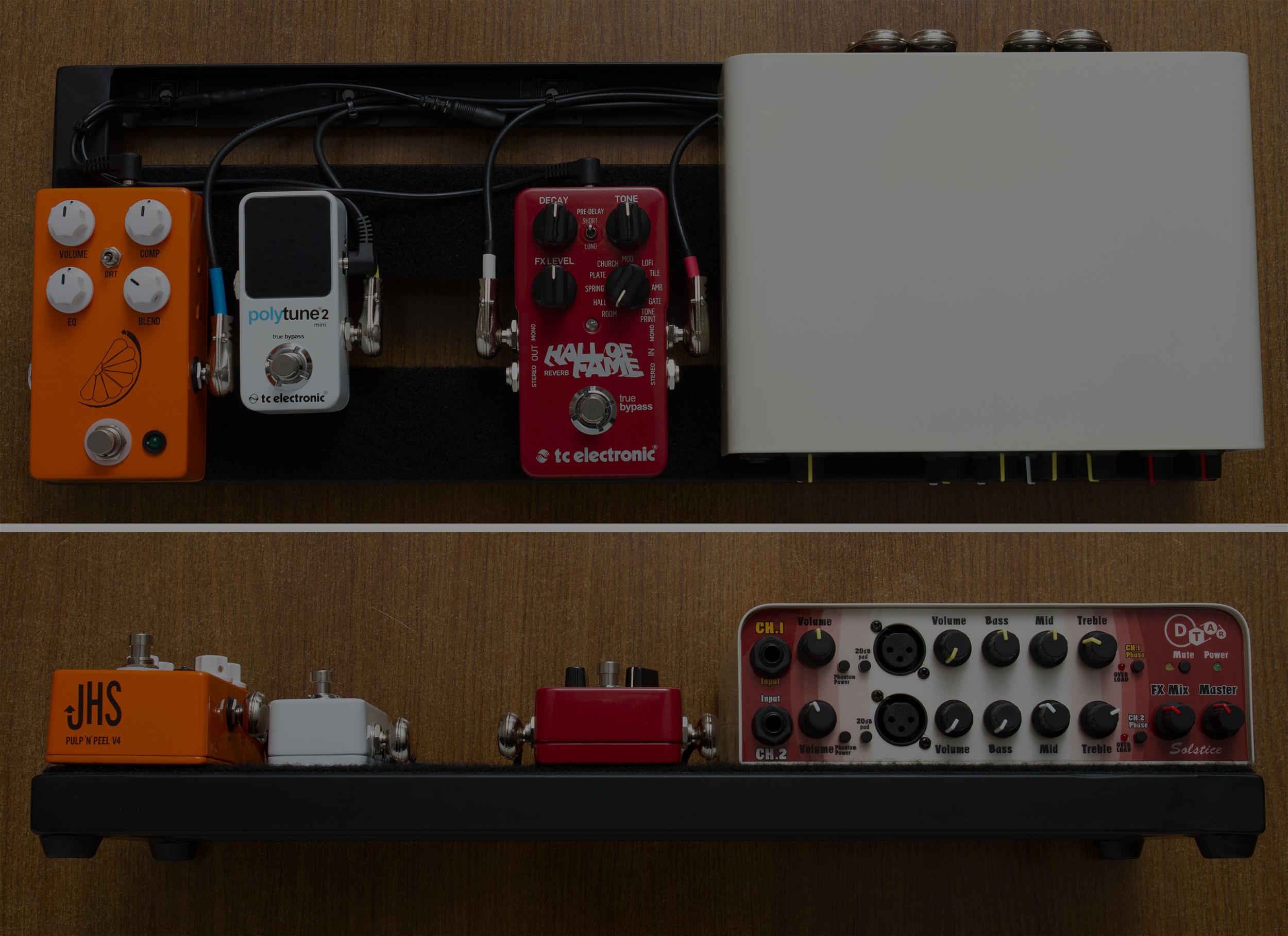 PedaltrainNANO - Dual Channel Acoustic Rig