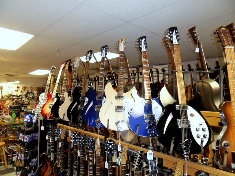 Authorized Rickenbacker dealer since 1992.