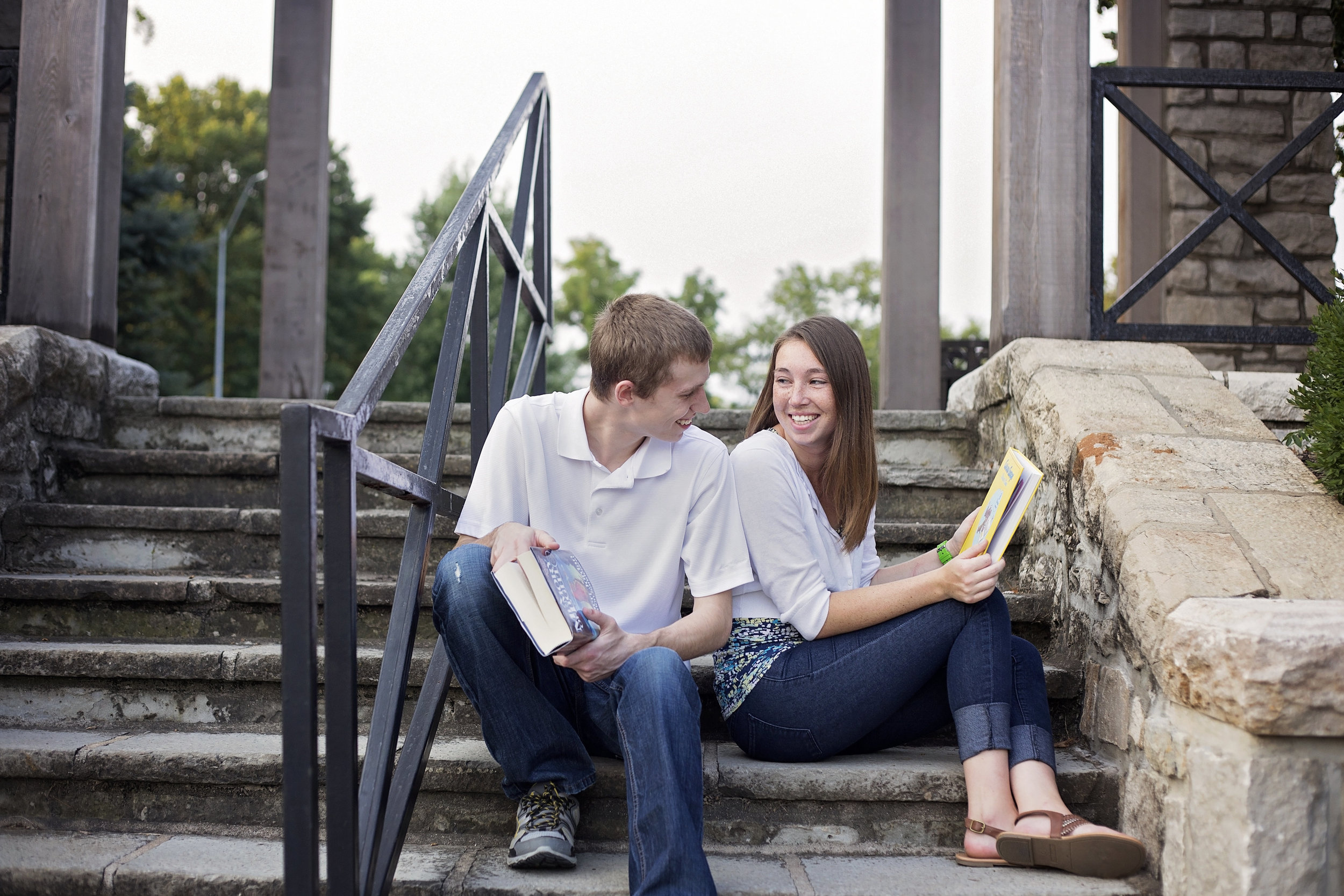 Loose Park KC Engagement Photographer