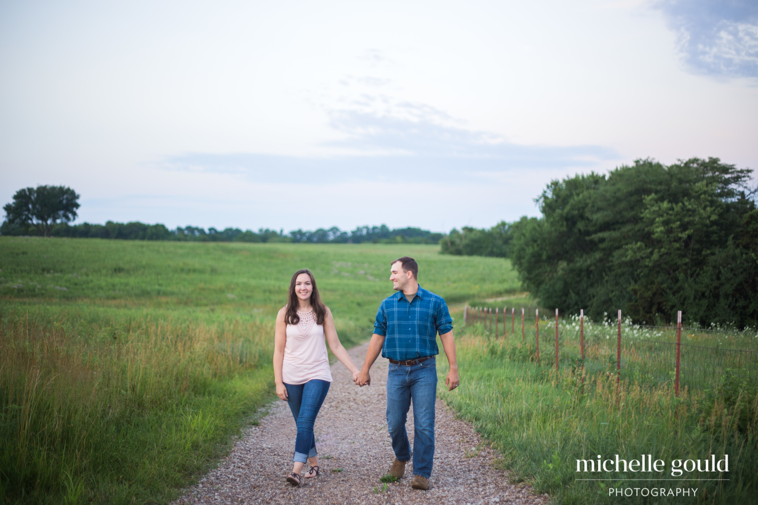 Prairie Center Engagement Photos