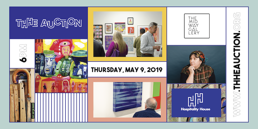 THHE AUCTIONBY HOSPITALITY HOUSE - May 9, 2019This annual community gathering will feature a stunning collection of artwork from local and regional artists, galleries, and collectors.