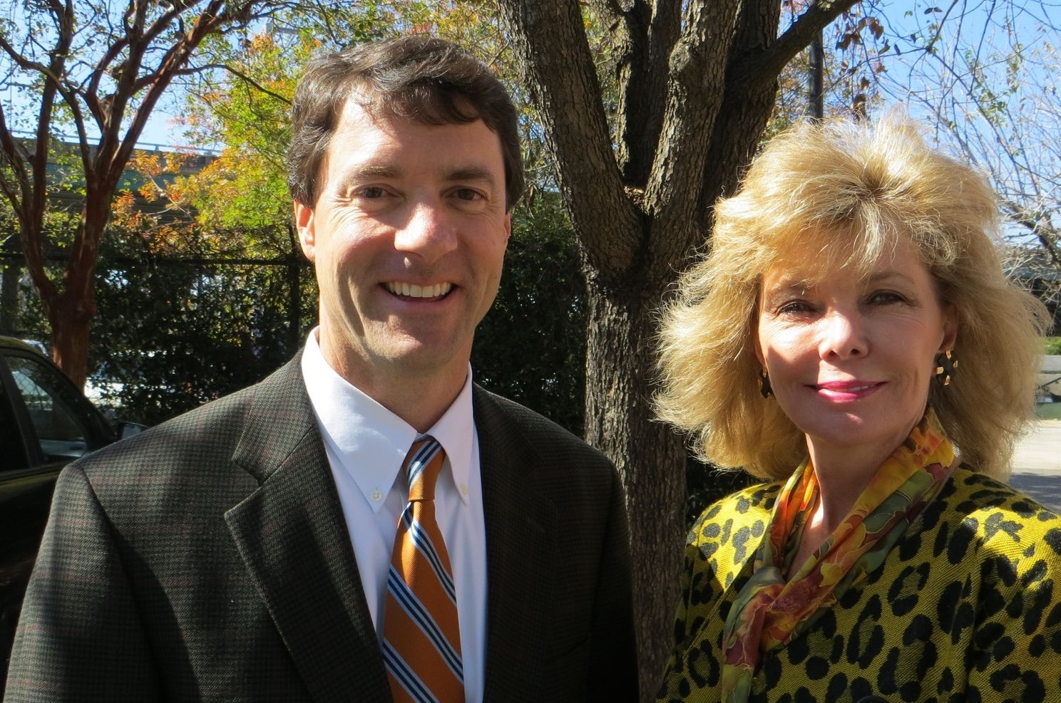 Harry Lesesne and Darla Moore