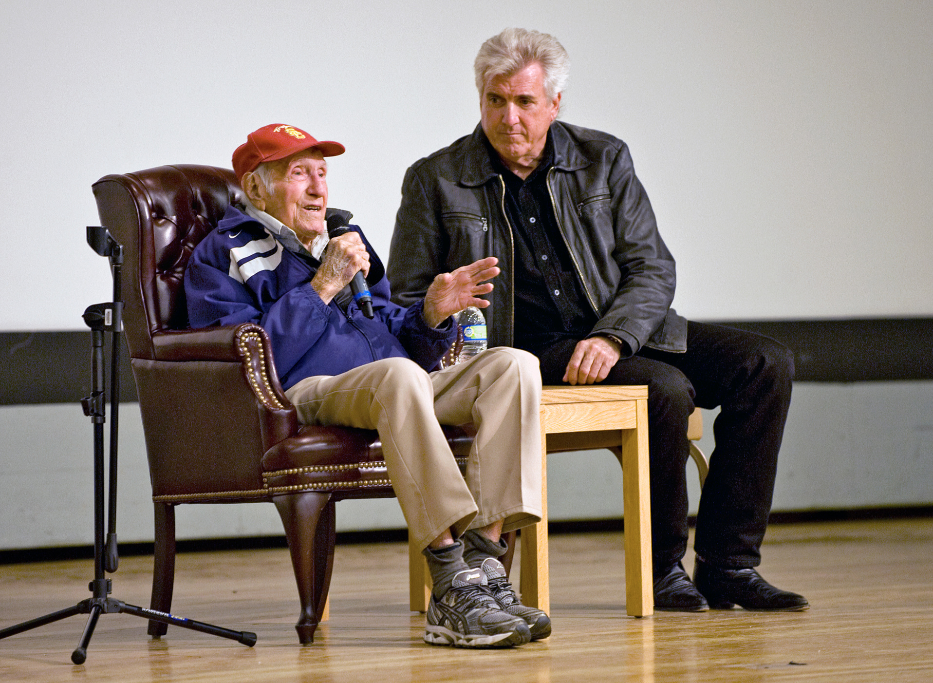 Louis Zamperini shares the remarkable story of his life at age 97.