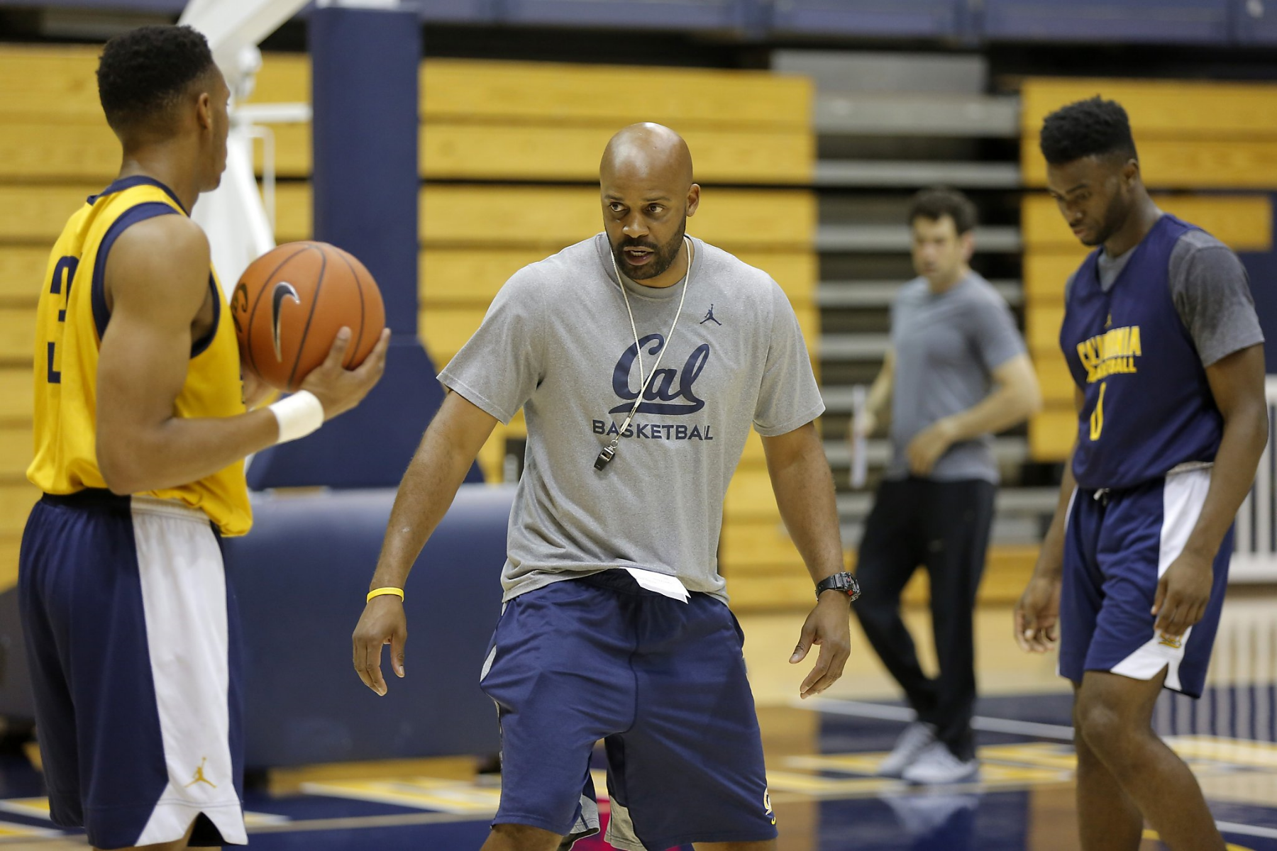 When Cuonzo Martin speaks, people listen. (Photo by John Polzer)